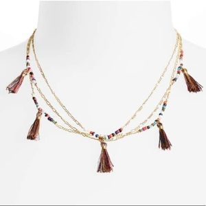 New Rebecca Minkoff Tassel Necklace
